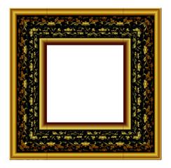 Ornate Vintage gold gallery frame
