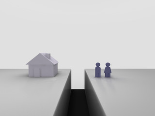 Real estate mortgage gap