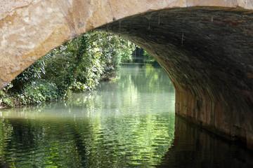 sotto il ponte sul canale