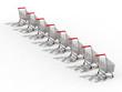 Trolleys with shaddows