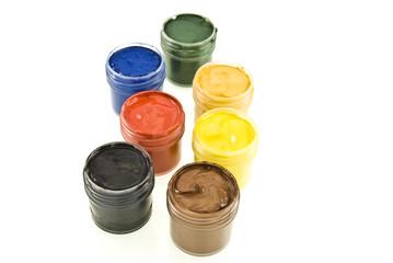 watercolor gouache paints set