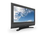 Flat screen TV illustration