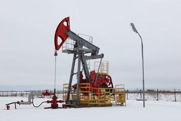 Oil pump in winter
