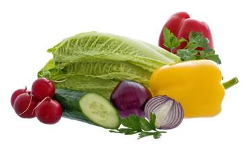 Gemüse Kollektion