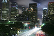 Los Angeles city at night
