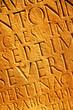 roleta: Roman letters texture
