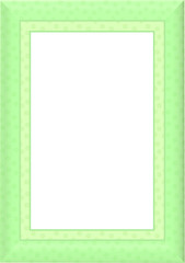 Summer Limes Border / Frame - With isolated Clipping Path