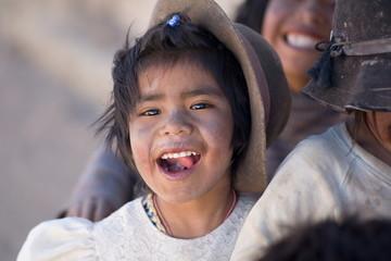 Bolivaan girl
