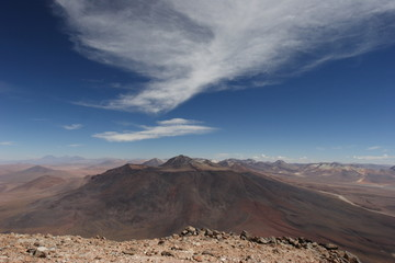 to the top of Licancabur