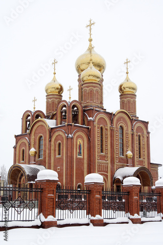 Russia - Ossiniki town - Orthodox Church