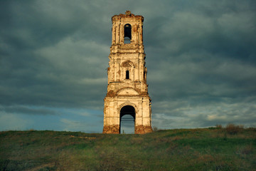 Belt-tower in Kachalino
