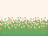 Pixel mosaic background poster