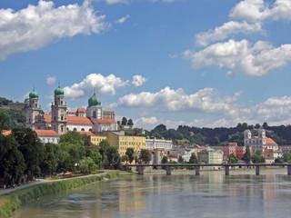 Passau - Brücke über den Inn