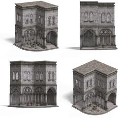 Medieval Houses - Churchblock