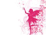 Fototapete Blume - Weiblich - Hintergrund