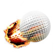 Golf through fire
