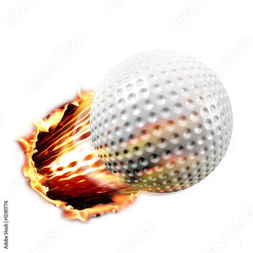 Golf through fire