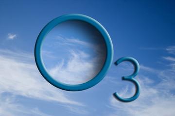 Logo O3 su cielo