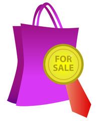 Icono de producto en venta