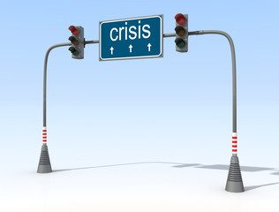 red light for crisis