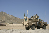 Mrap Armored Vehicle in Afghanistan