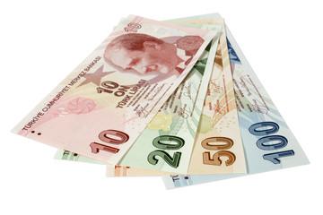 turkish lira banknotes