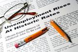 Unemployment Rises poster