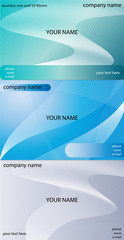 business visit card design. vector