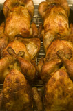 Roast chickens