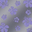 Aluminum Flowers silver - Perforated plate