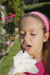 Little Girl Sneezing