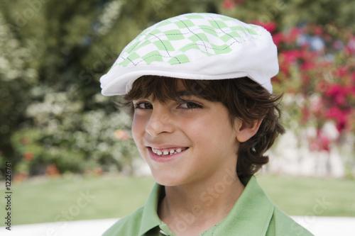 Boy in a Beret