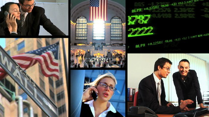 Business & Financial Montage