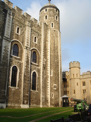 White tower of London