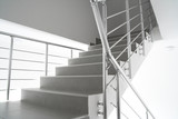Modern interion staircase poster