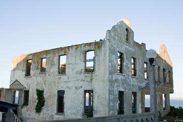 Alcatraz ruin
