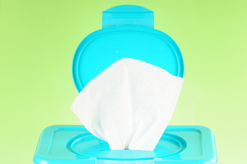 open diaper wipes