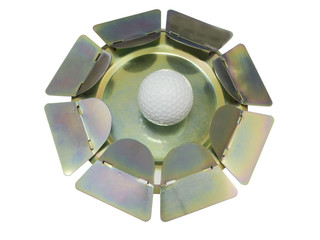 Golf Putting Practice Device