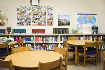 High School Library Reading Room