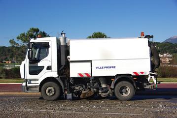 camion de nettoyage urbain