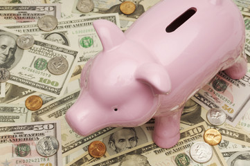 Piggy Bank on Money