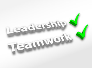 """Leadership & Teamwork"" (3D)"