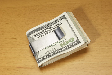 Money in Money Clip