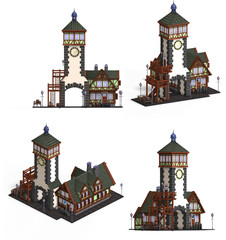 Medieval Houses - Church or Gate house