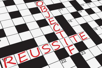 Objectif : Réussite (mots-croisés)