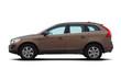 Brown luxury SUV