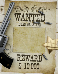 Wanted-gun