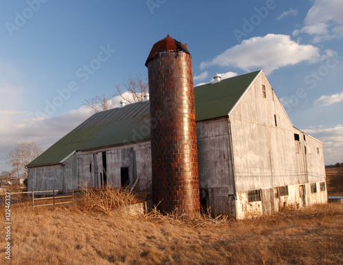 Rustic Barn At Sunset