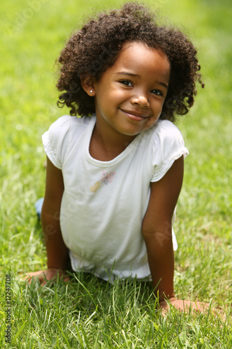 Cute Afro Child