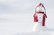 Leinwanddruck Bild - Happy snowman